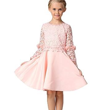 Festliche kleider fur madchen in rosa