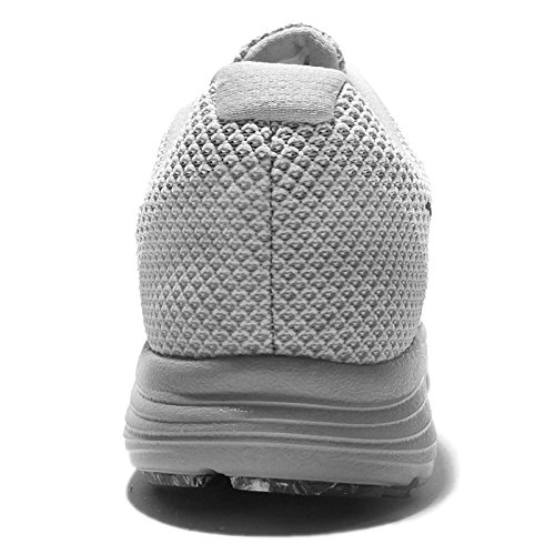 Nike Revolution 3, Scarpe da Corsa Uomo WHITE/MTLC HEMATITE-WOLF GREY-
