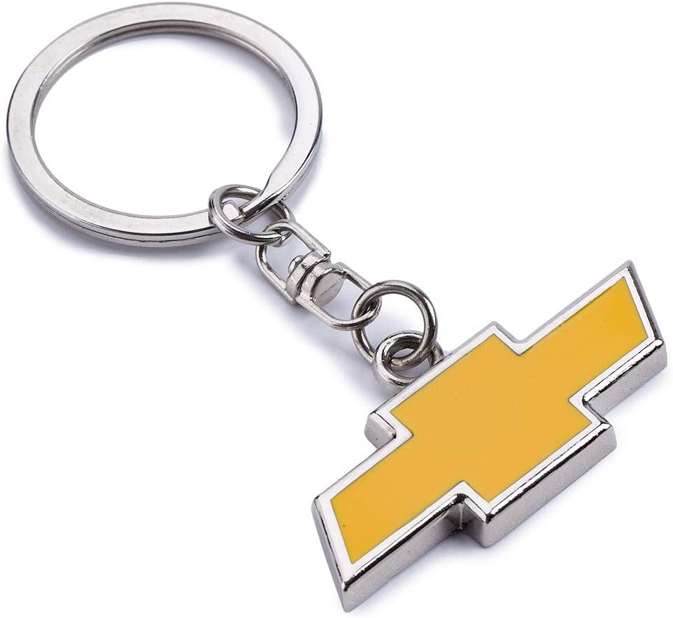 ACGOING Metal Keychain Keyrings BMW 3D Chrome Premium Metal Key Chains Key Rings Wtih Car Logo Best for Gifts