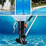Swimming Pool Jet Vacuum Cleaner Underwater with 5