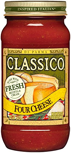 Classico Four Cheese Pasta Sauce, 24 Ounce