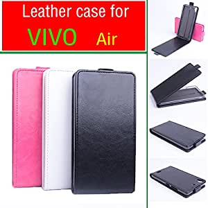 High Quality New Original VIVO Air Leather Case Flip Cover for VIVO Air Case Phone Cover In Stock Free Shipping --- Color:Black