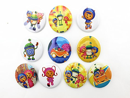 10pcs Team Umizoomi Children Badge Button Pin Kid