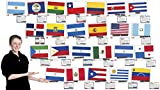 Flags of Spanish Speaking Countries Bulletin Board Set