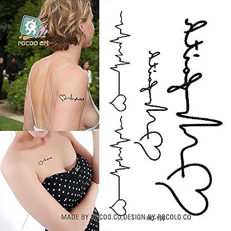 Clásico negro Tatoo gato pájaro falso tatuaje cuerpo de la mano ...
