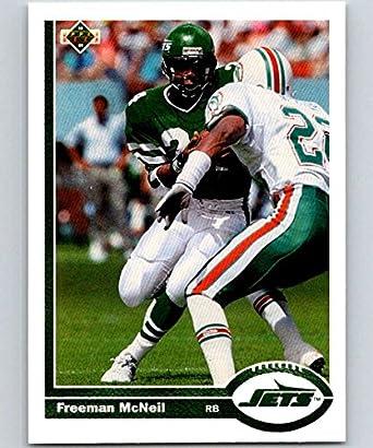 4e19e9b9139 Amazon.com: Football NFL 1991 Upper Deck #431 Freeman McNeil #431 NM ...
