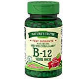 Nature's Truth Vitamin B-12 1000 mcg Fast Dissolve Tablets, Natural Berry Flavor 120 ea (Pack of 2) For Sale