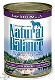 Natural Balance Lamb and Brown Rice Formula Dog Food (Pack of 12, 13-Ounce Cans), My Pet Supplies
