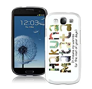 Samsung Galaxy S3 Case Hakuna Matata White Cell Phone Case Cover Accessories