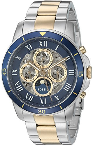 Fossil-Mens-ME3141-Grant-Sport-Automatic-Two-Tone-Stainless-Steel-Watch