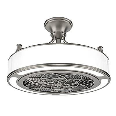 Anderson 22 in. Indoor/Outdoor Brushed Nickel Ceiling Fan