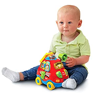 VTech Baby Go! Go! Smart Wheels - Jumbo Push & Discover Fire Chief