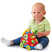 VTech Go! Go! Smart Wheels Jumbo Push and Discover Fire Chief