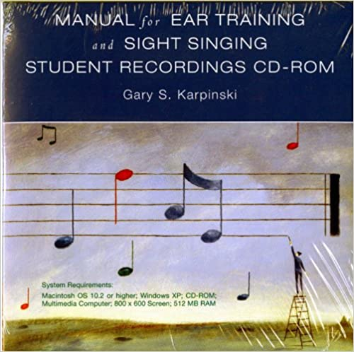 Student Recordings: for Manual for Ear Training and Sight Singing, Karpinski, Gary S.