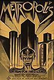 Metropolis Movie Poster (36 x 24 Inches - 90cm x 60cm) (1926) German Style D -(Brigitte Helm)(Alfred Abel)(Gustav Froehlich)(Rudolf Klein-Rogge)(Fritz Rasp)(Heinrich George)