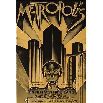Amazon.com: Metropolis Póster de película F (27 x 40 inches ...