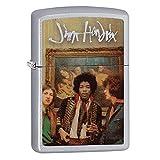 Zippo Jimi Hendrix Pocket Lighter, Satin Chrome
