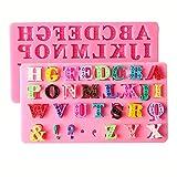 HengKe 2 PcsLetter/alphabet Mould, Language Sign