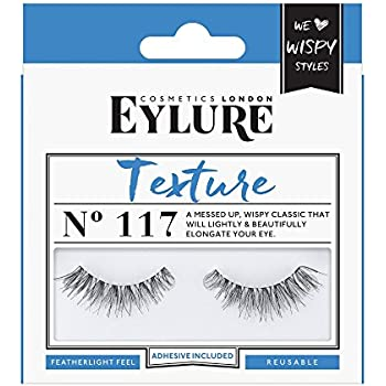 298d01ddb3c Eylure Texture False Lash, Style No. 117, Reusable, Adhesive Included, 1  Pair