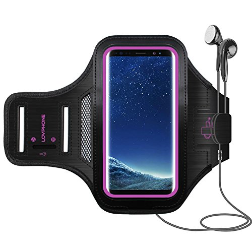 Galaxy S8 Armband - LOVPHONE Sport Running Exercise Gym Spor