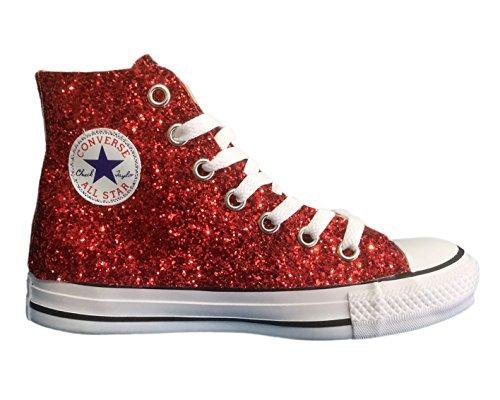 Converse Glitter Rosso All Rosse Star vnqvPwrSEx