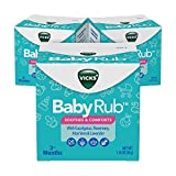Vicks BabyRub, Chest Rub Ointment with Soothing