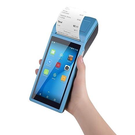 KJRJBQ Impresora de Recibos Terminal Android POS Impresora ...