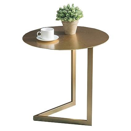Amazon.com - Chunlan Metal Side Table, C-Shaped Bedside ...