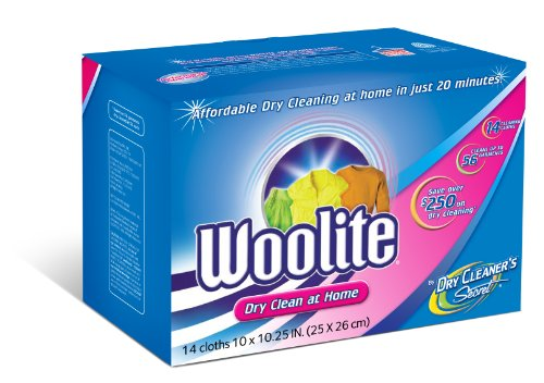 Woolite Dry Cleaner's Secret Dry Cleaning Cloths, 14-Count Box