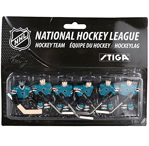 NHL San Jose Sharks Table Top Hockey Game Players Team Pack