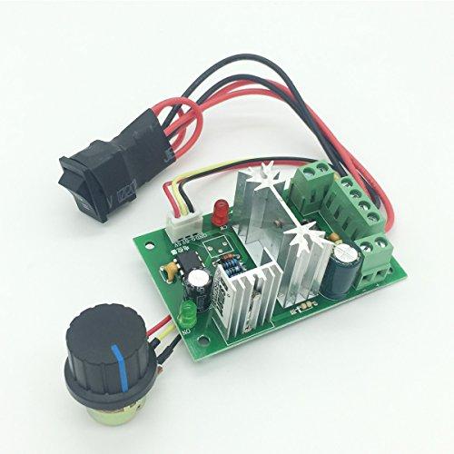 Bringsmart CCM6N DC PWM Motor Speed Controller 6V-30V Variable Speed Drive 6A Positive Inversion Mini Switch Controller (Speed - Controller Circuit Motor