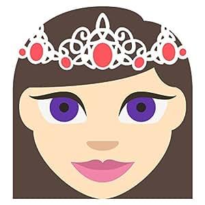 Princess Tone 1 Emoji Metal Sign