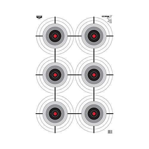 Birchwood Eze Scorer Multi Bulls Eye Target 35 Inch product image