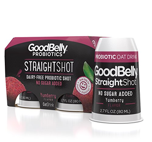 - GoodBelly Probiotic Straight Shot for Digestive Health - Yumberry {1 Case - 24 shots}