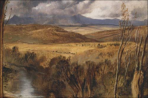 Dmxplus Original Poster 16 x 24 Inch Wall Decor Sir Edwin Henry Landseer - A Highland Landscape 1830