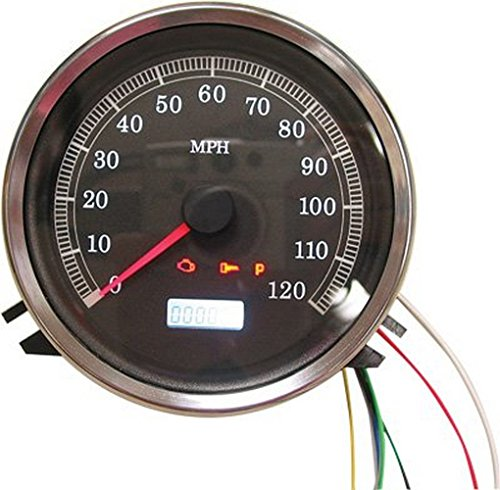 Harddrive T21-6983-12 Black Electronic Speedometer Face