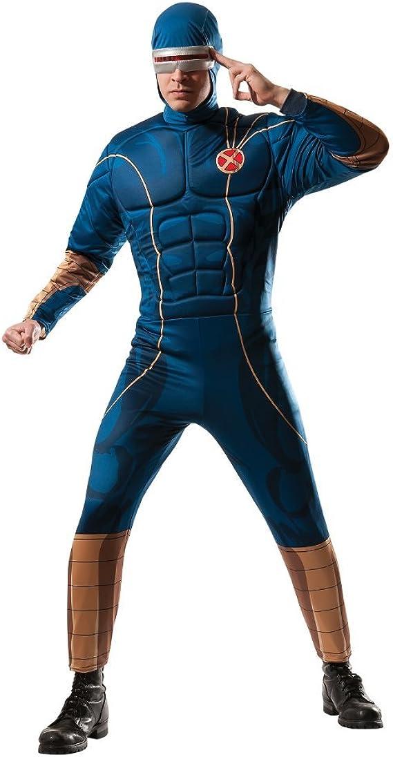 Cyclops disfraz para adulto x-Men superhéroe traje de cuerpo para ...