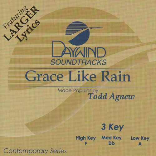 Rain Accompaniment Cd - Grace Like Rain [Accompaniment/Performance Track]