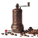Bazaaranatolia Turkish Grinder, Spice Grinder, Salt Grinder, Pepper Mill 4.2'' (Antique Copper) by Bazaar Anatolia