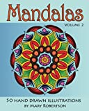 Mandalas: 50 Hand Drawn Illustrations (Volume 2)