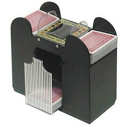 AF Automatic Playing Card Shuffler, Best Card Shuffler 6 Deck, Ideal For Blackjack-Poker Automatic Portable Card Shuffler,Battery Operated & Ebook Home Decor by AF (Image #5)