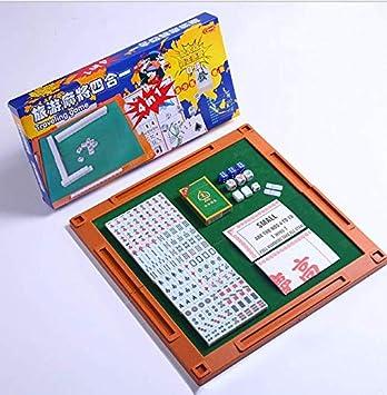 Amazon com: JINXIAOXIAO Mahjong Portable Mahjong, Mini