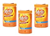 Cheap Meta-mucil Multihealth Fiber #1 Doctor Recommended Brand and 100% Natural Psyllium Husk Sugar Free Daily Fiber Supplement of Orange Smooth Fiber Powder and Naturally and Artificially Flavored- 3 Pack of 30 Doses or 6.1 Oz (90 Doses Total)