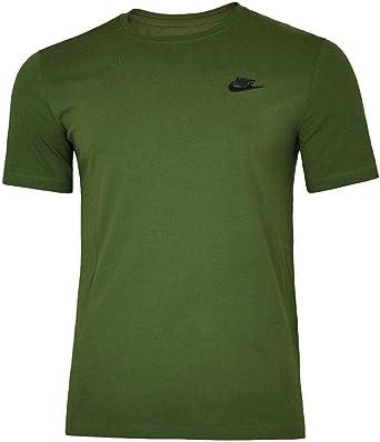 NIKE tee Club Embrd Ftra Camiseta, Hombre: Amazon.es: Ropa y accesorios