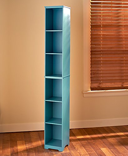 Slim Storage Tower (Teal Mist)