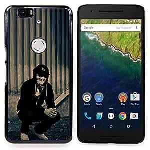 "For Huawei Google Nexus 6P , S-type Hollywood Undead j perro"" - Arte & diseño plástico duro Fundas Cover Cubre Hard Case Cover"