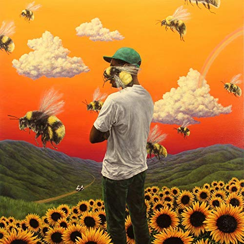 - United Mart Poster Album Cover Poster Tyler, The Creator: Flower Boy Poster Size 12x18 inch Rolled Poster
