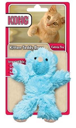 Pet-Supply Kong - Juguete para Gatitos de Oso de Peluche, los Colores Pueden Variar. Pañuelo, Gato, no tóxico, Arrugas, Juguete: Amazon.es: Productos para ...