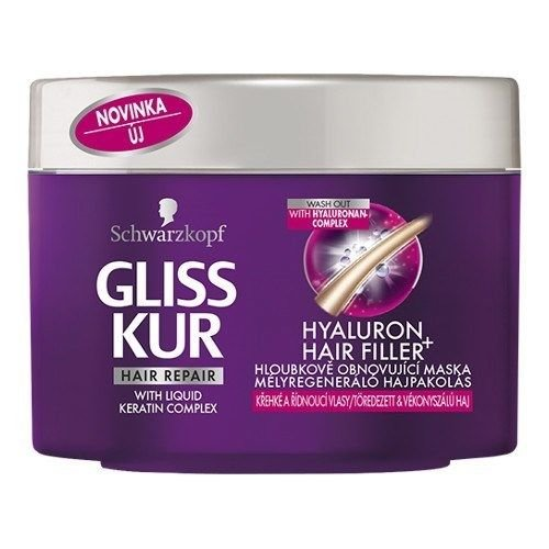 Schwarzkopf Gliss Kur Hyaluron Hair Filler Repair Mask Conditioner Damaged Dry Good Packing Fast Shipping by TREATMENTHAIR