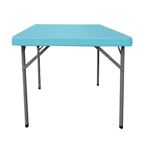 mesa plegable Chunlan Mesa de Comedor Plegable plástica ...